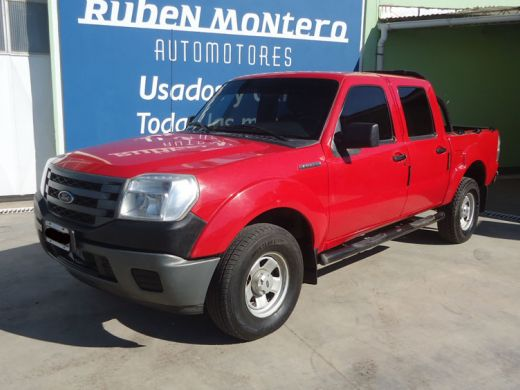Ford Ranger XL Plus usada 2010 roja